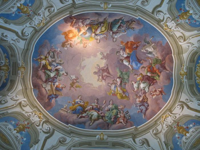 Монастырь в стиле барокко