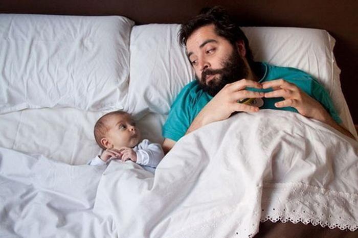 фотография отца и сына от Jonas Jungblut