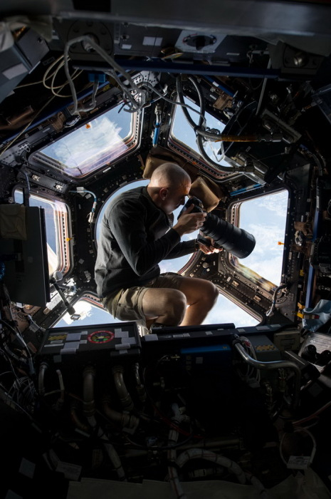Космическая фотосессия