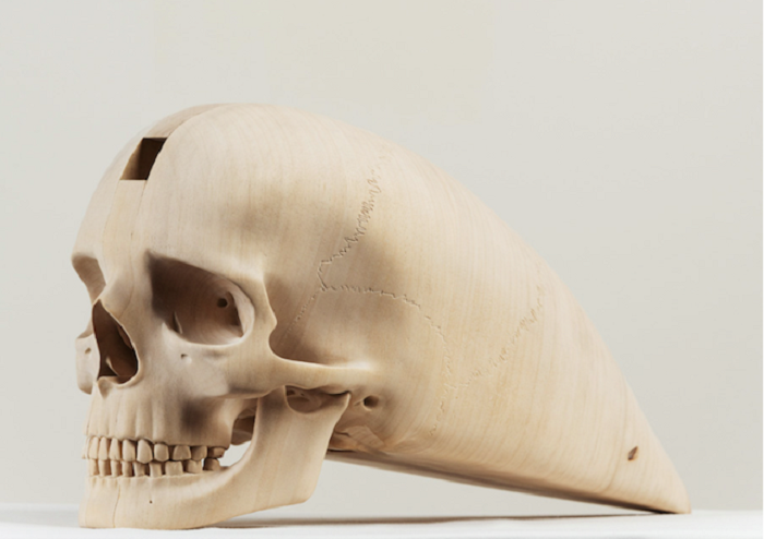Деревянный череп от Paul Kaptein