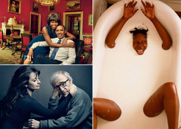 Лучшие фотографии Annie Leibovitz