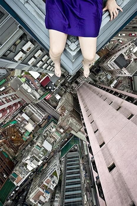 фотография Ahn Jun на крыше