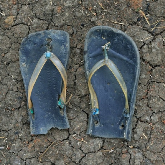 Красноречивая обувь беженцев из Судана