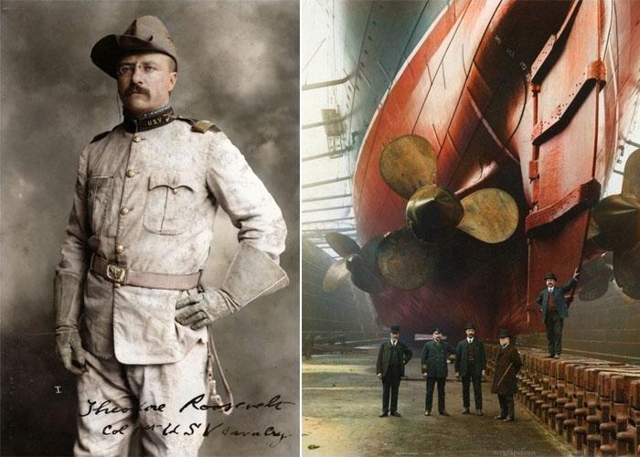 Исторические фотографии, которые были восстановлены