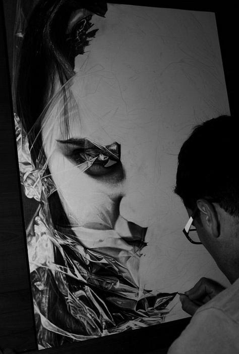 Создание картины Diego Fazio.
