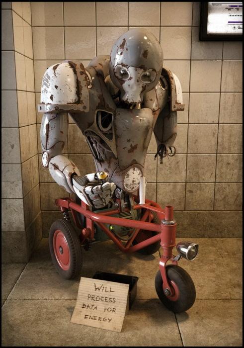 реалистичные 3D-роботы