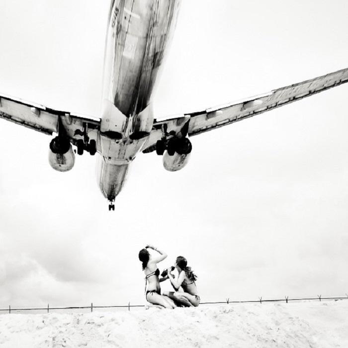 Захватывающие фотографии самолета.