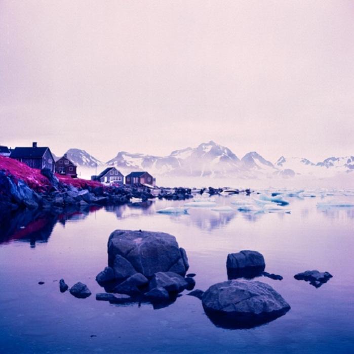 Инфракрасные ландшафты Арктики от фотографа Daniel Zvereff.