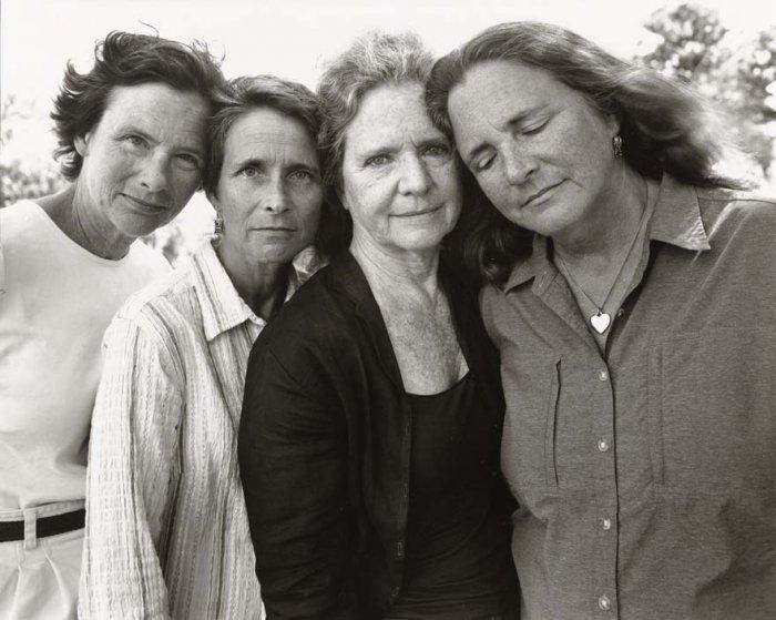 Проект Сестры Браун от фотографа Nicholas Nixon 2010 год