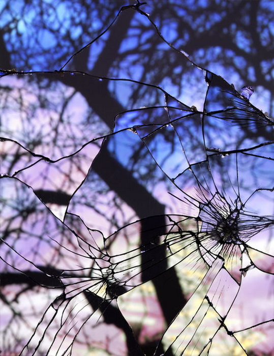 Пейзажи в разбитых зеркалах Bing Wright