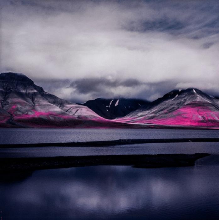 Инфракрасные ландшафты.