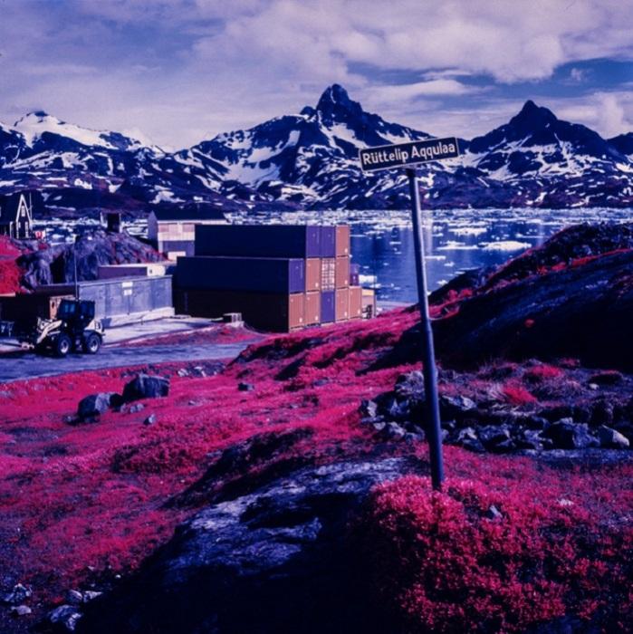 Инфракрасные пейзажи Арктики от Daniel Zvereff.