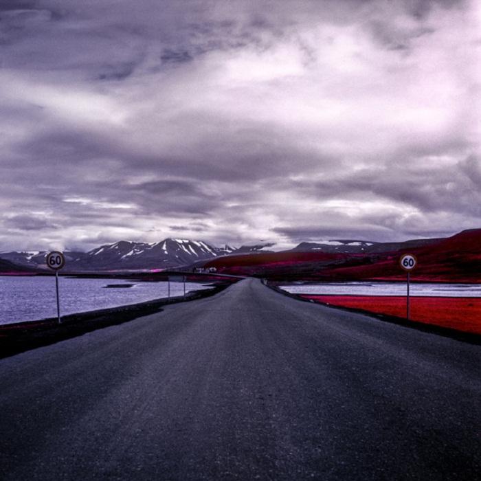 Инфракрасные ландшафты Арктики от Daniel Zvereff.