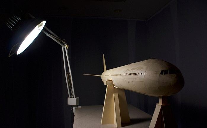 Репродукция самолета Boeing 777
