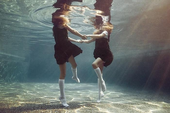 Дети под водой от Alix Martinez.