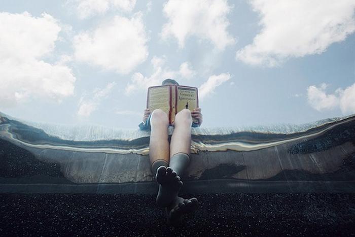 Alix Martinez: дети под водой.