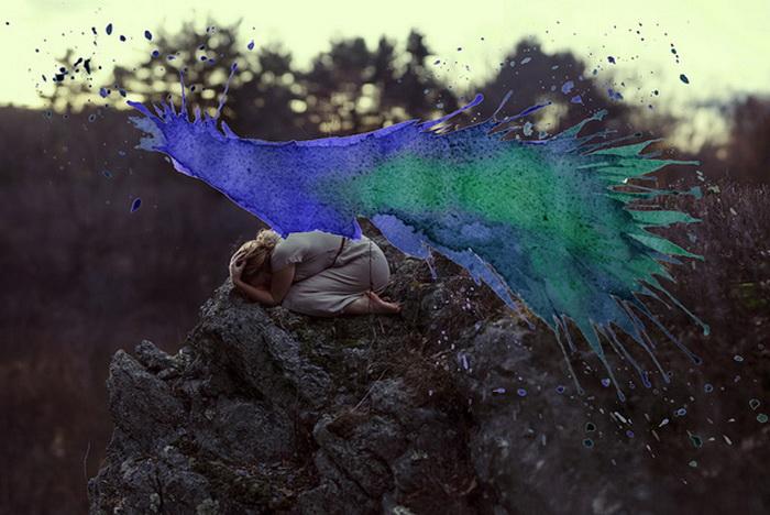 Коллекция Anesidora от Aliza Razell: акварельный всплеск на фотографиях