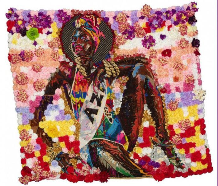 Картина африканского художника Athi-Patra Ruga