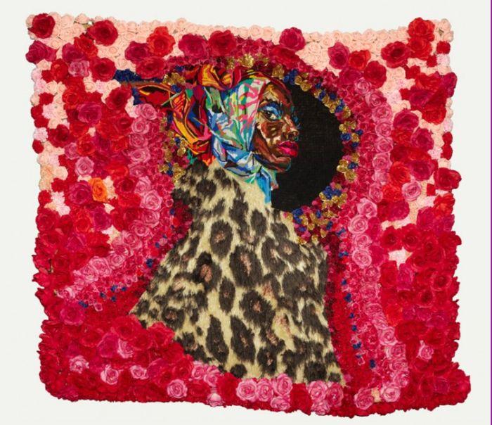 Живые цветы в творчестве африканского художника Athi-Patra Ruga