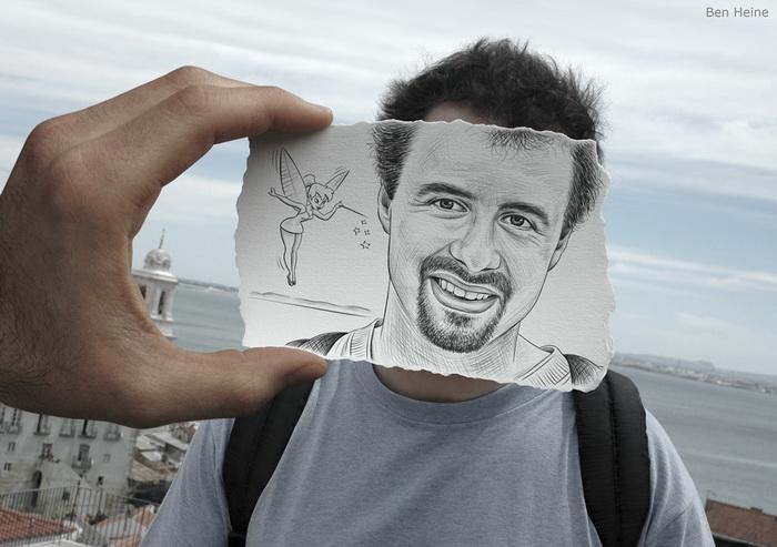 Ben Heine: карандаш против камеры