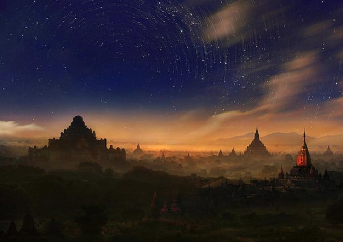 Волшебные пейзажи Азии на снимках Weerapong Chaipuck
