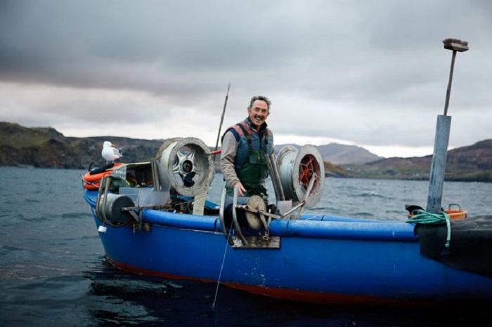 Фотографии с рыболовецкого судна.