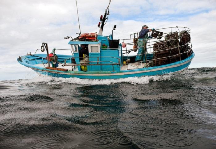 Рыболовецкое судно.