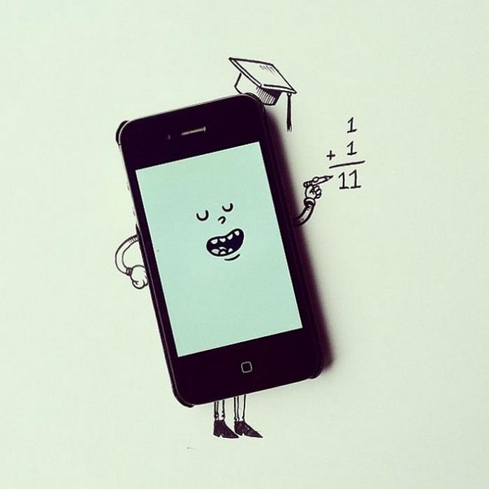Смешно картинки про смартфоны, любовные