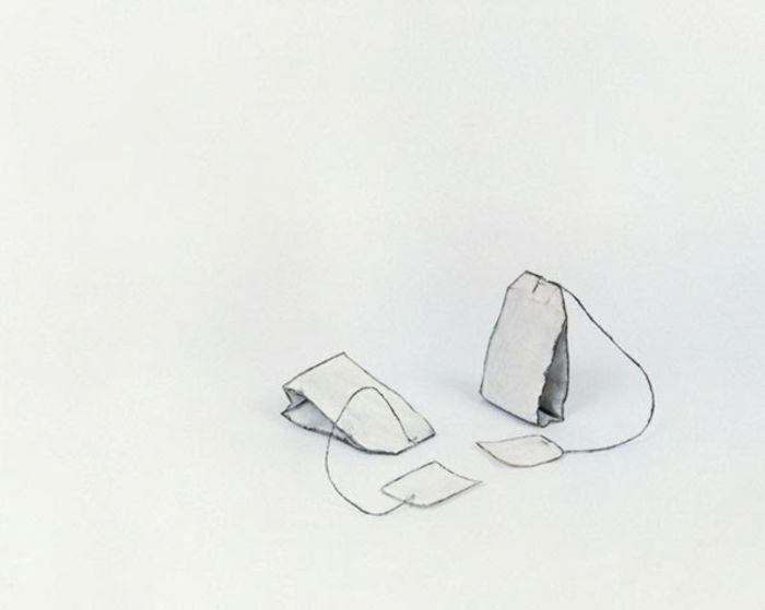 Чайные пакетики от Cynthia Greig