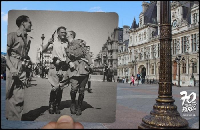 Освобождение Парижа.
