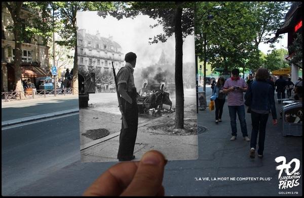 Битва на улицах Латинского квартала.