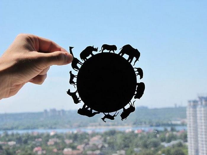 Живописная резьба по бумаге от Дмитрия и Юлии DreamPapercut
