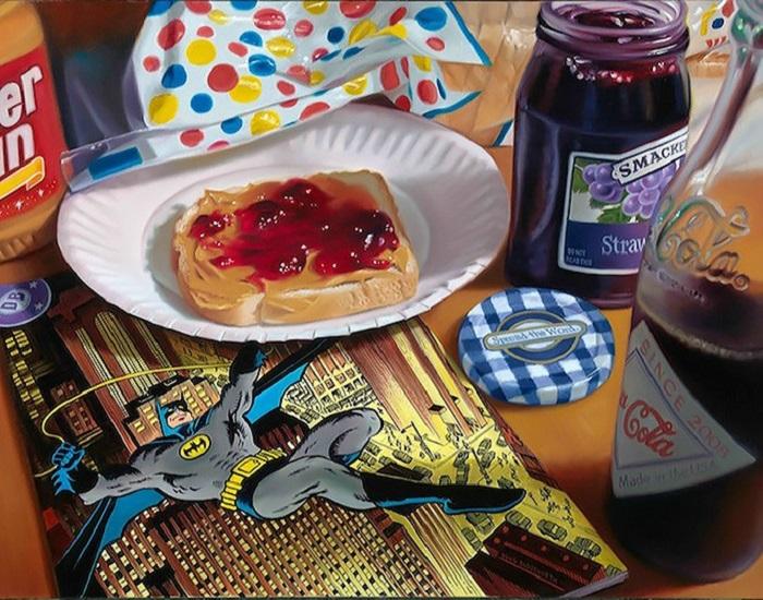 Вредные привычки детей в картинах Doug Bloodworth.