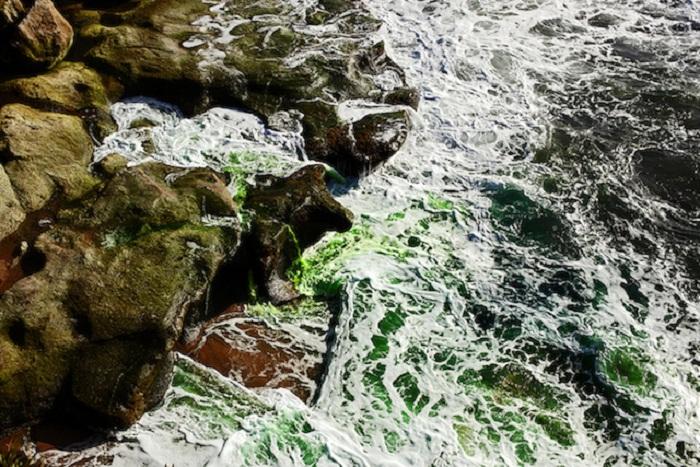 Цветное море.