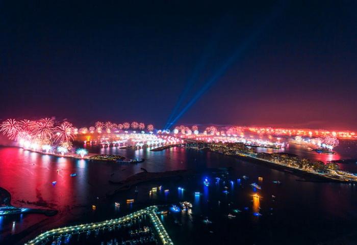 Фейерверки в Dubai