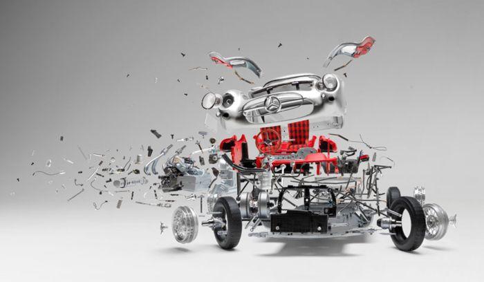 Взрывающиеся автомобили Fabian Oefner