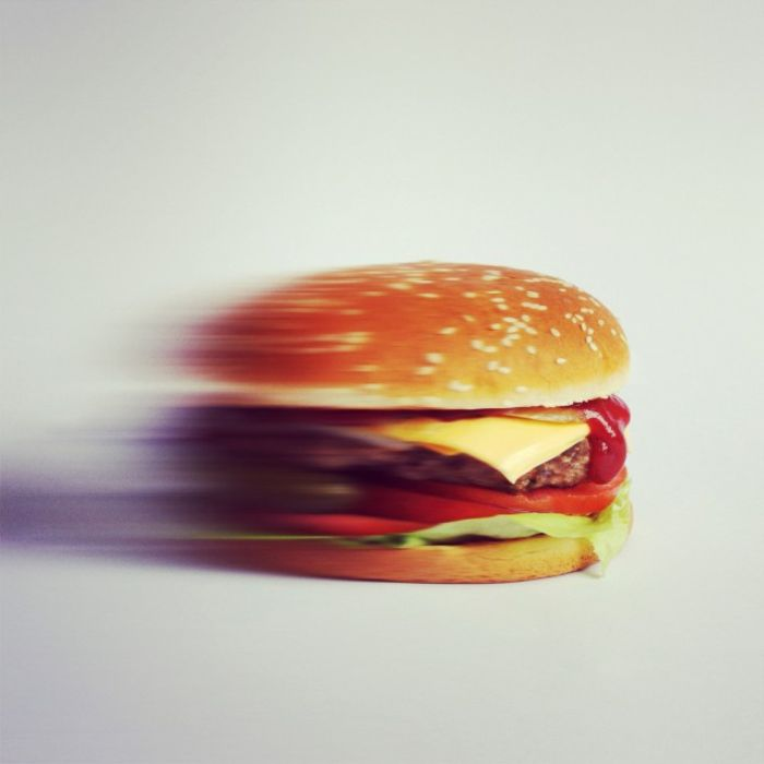 скоростной бургер
