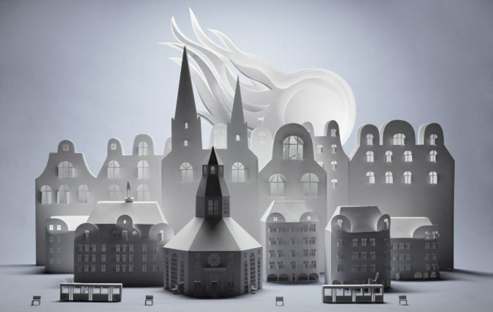 Бумажный город от Fideli