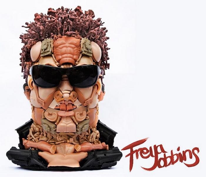 интересные скульптуры Freya Jobbins