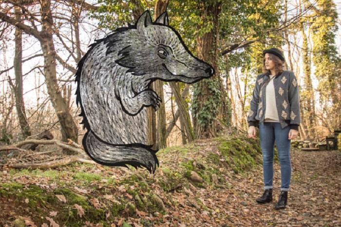 Серый волк.