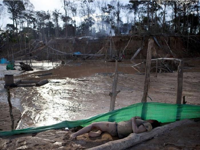Рудник в Ла-Пампа.