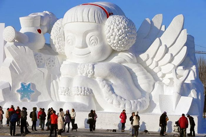China Harbin International Ice and Snow Sculpture Festival