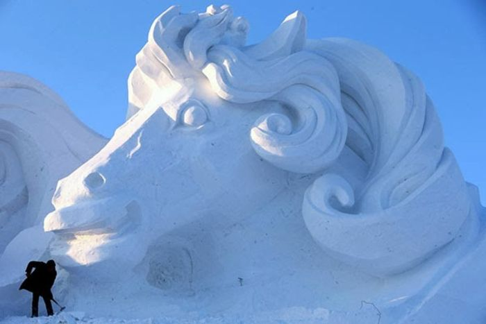 Экспонат China Harbin International Ice and Snow Sculpture Festival
