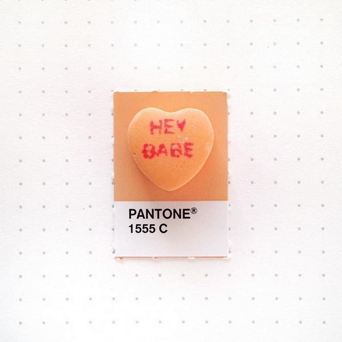 Оттенки Pantone.