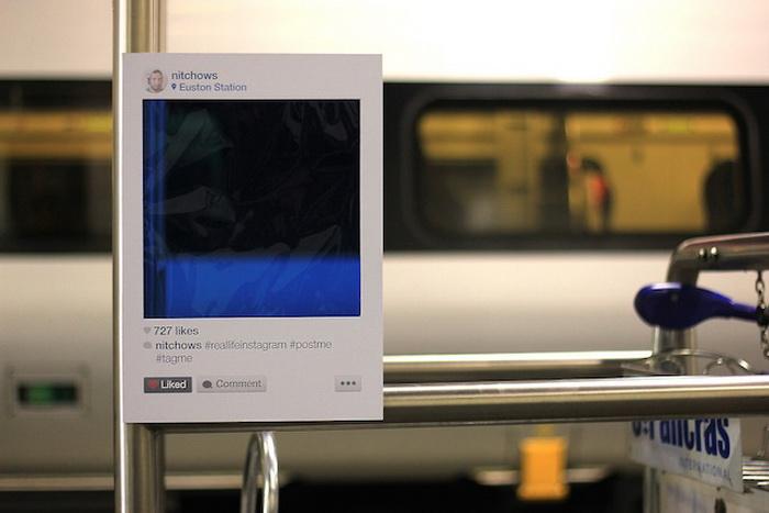 Real Life Instagram: уникальный проект, посвященный популярной соцсети