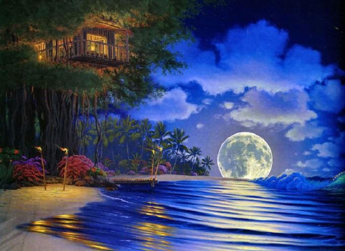 Гавайи от John Al Hogue.