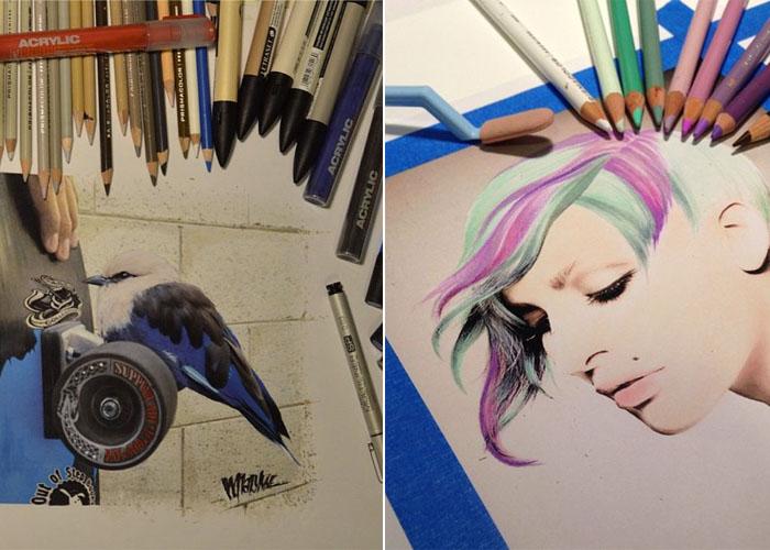 Удивительные работы Karla Mialynne
