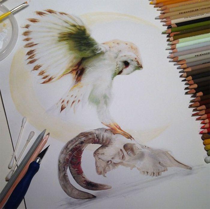 Картины Karla Mialynne, поражающие воображение
