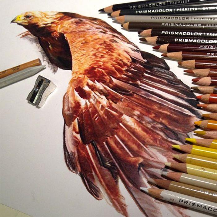 Karla Mialynne: рисунки цветным карандашом