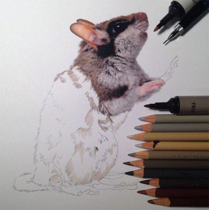 Потрясающие рисунки Karla Mialynne